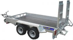 The TM Plant Range of Plant Trailers