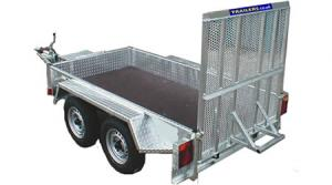The TMP001 Plant Trailer from the TM Plant Trailer Range
